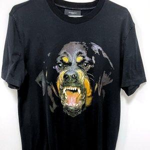 Givenchy Rottweiler Black T-shirt
